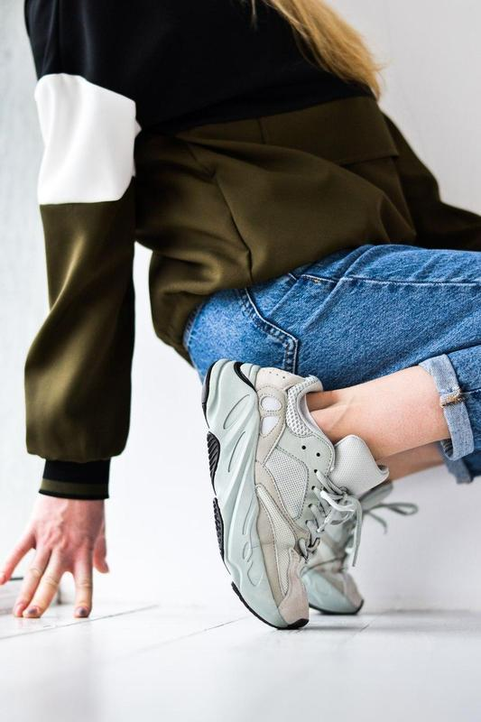 Adidas yeezy шикарные женские кроссовки замша/весна/лето/осень😍 - Фото 7