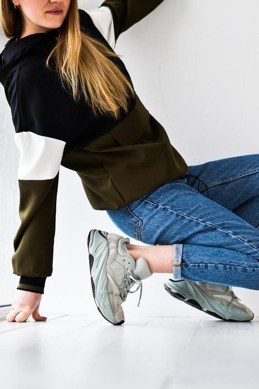 Adidas yeezy шикарные женские кроссовки замша/весна/лето/осень😍 - Фото 8