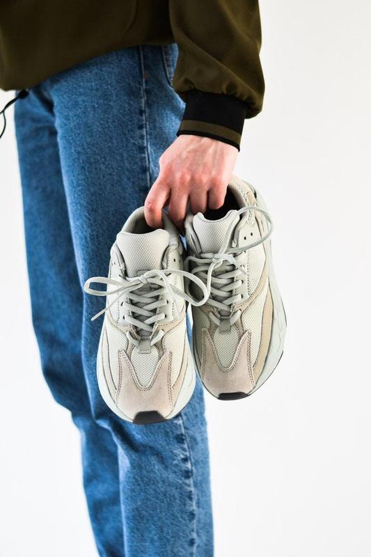 Adidas yeezy шикарные женские кроссовки замша/весна/лето/осень😍 - Фото 9
