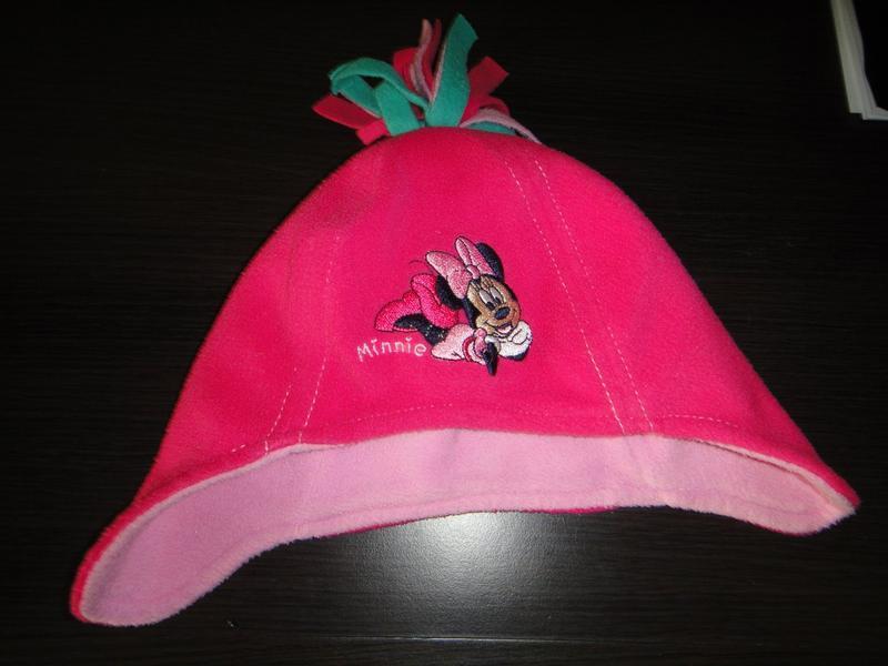 Флисовая шапочка george 3-6 мес - Фото 2