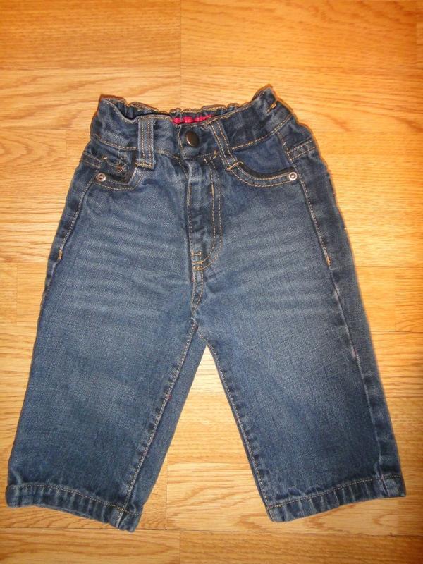 Плотные джинсы george 6-9 мес