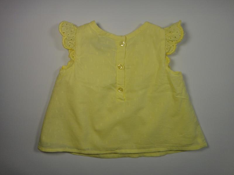 Тоненькая блузка-туника primark  3-6 мес, 68 см - Фото 2