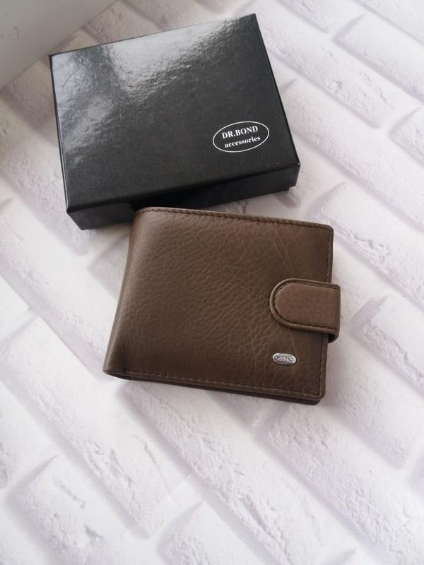 Кожаный кошелек мужской чоловічий гаманець. кожаное портмоне