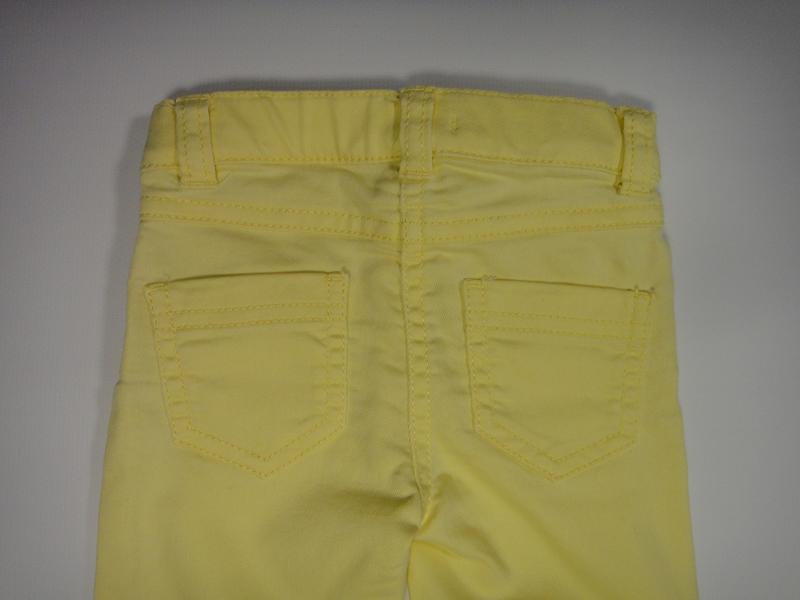 Желтые джинсы f&f 6-9 мес, 74 см - Фото 5
