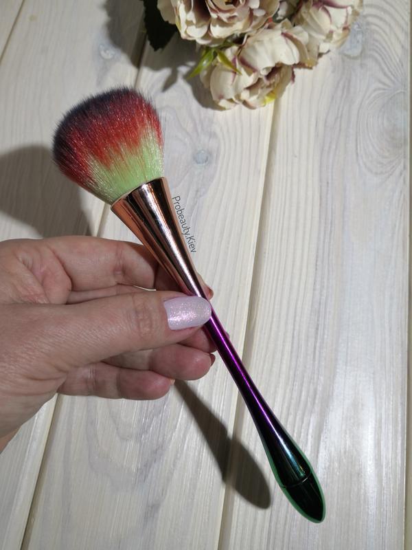 Кисть для макияжа для пудры, румян или сметка для маникюра gra... - Фото 3