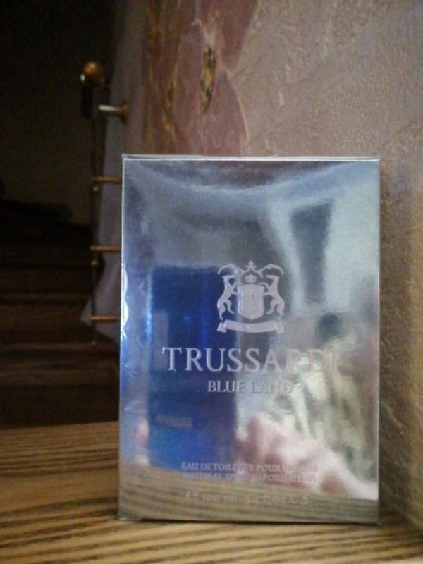 Trussardi blue land мужская туалетная вода, 50мл,100мл - Фото 3