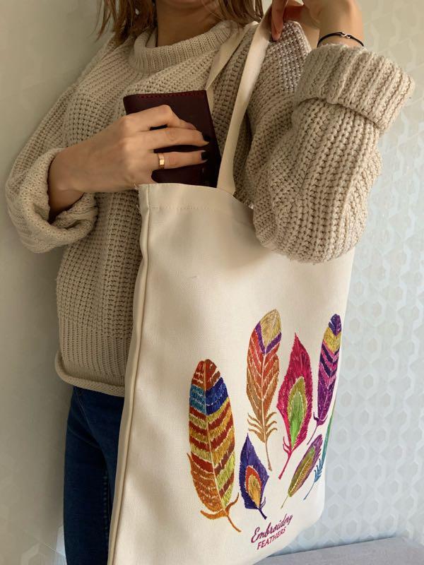 Эко сумка 😍 - Фото 4