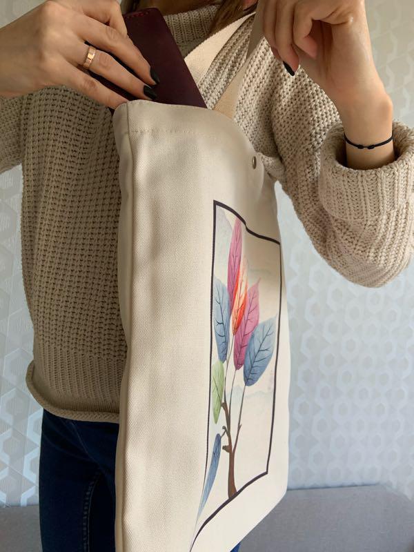 Эко сумка 😍 - Фото 8