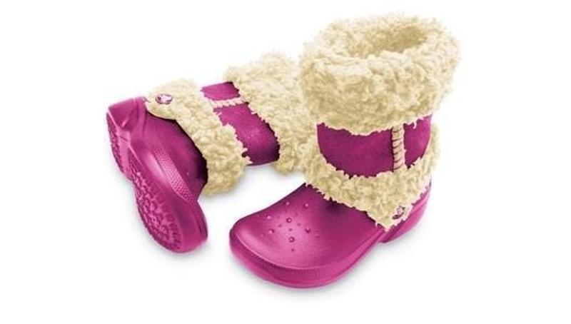 Сапоги крокс crocs nadia boots c 12-13 р стелька 19 см 29-30 р - Фото 2