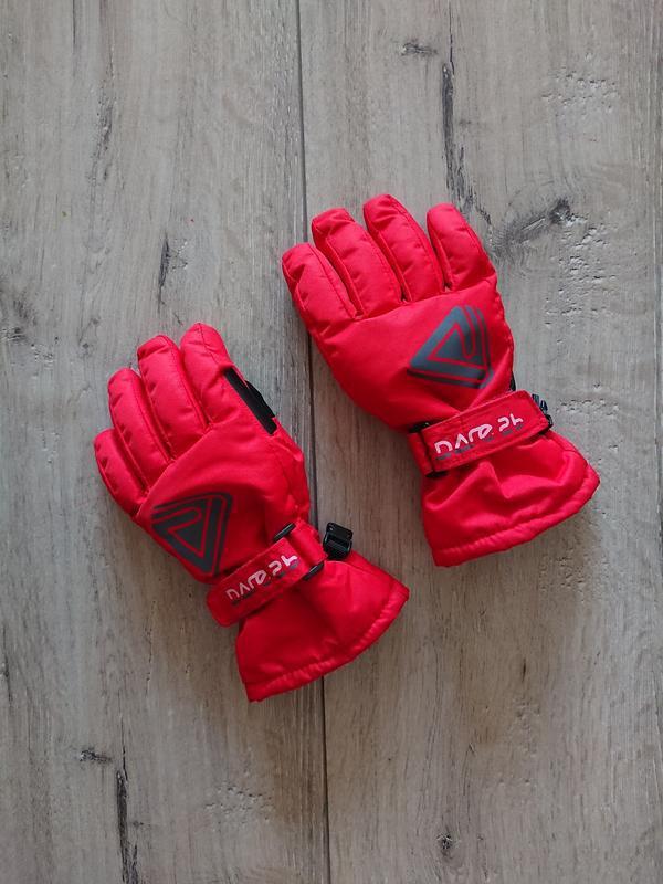 Краги зимние лыжные перчатки dare2b 6-7 лет