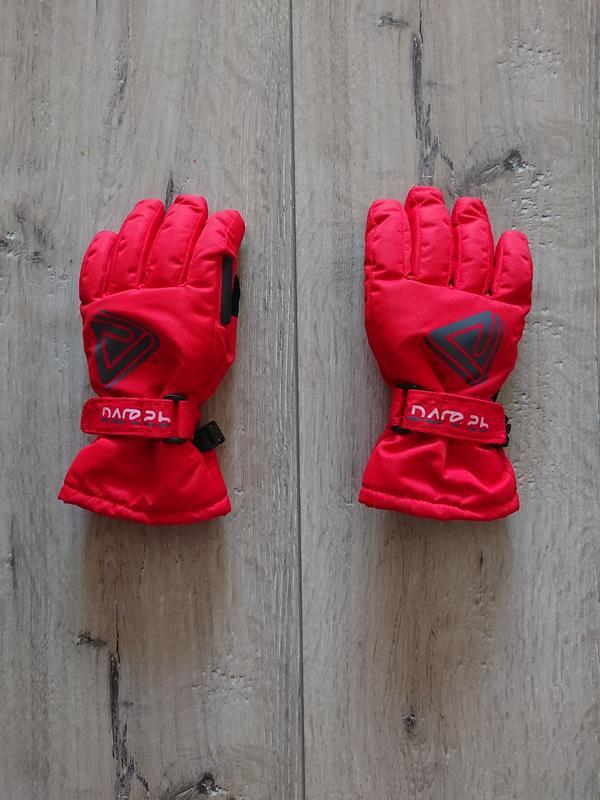 Краги зимние лыжные перчатки dare2b 6-7 лет - Фото 2