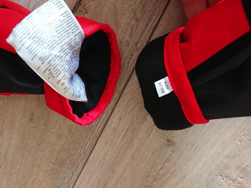 Краги зимние лыжные перчатки dare2b 6-7 лет - Фото 4