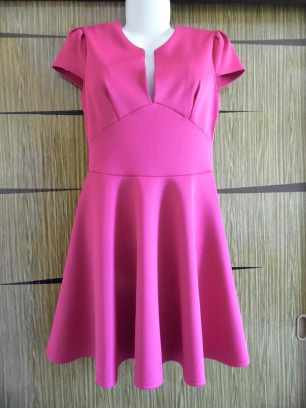 Платье трикотаж, новое сlubl размер 12 – идет на 44-46+.