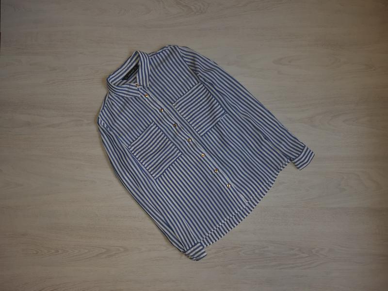 Рубашка zara basic оригинал