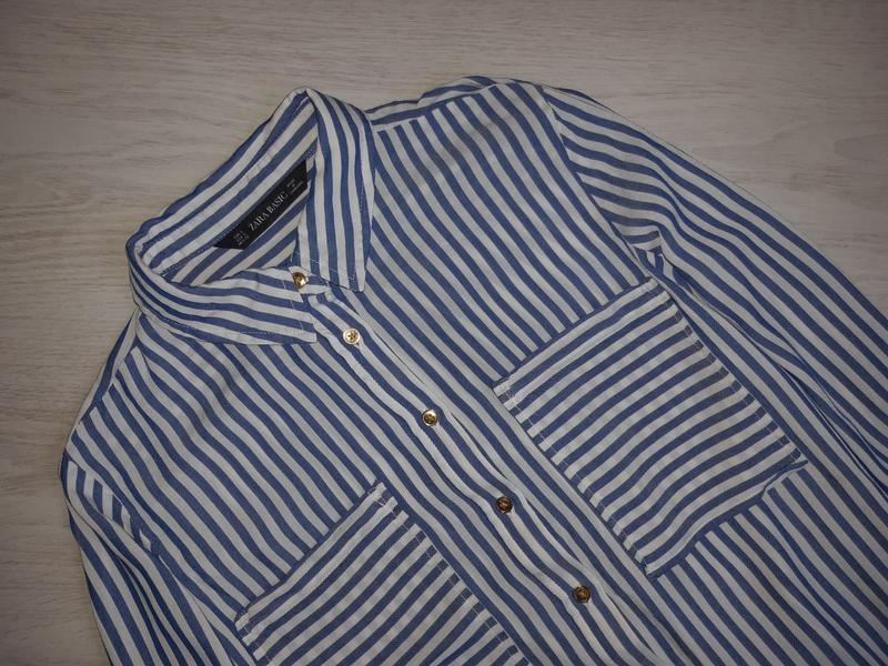 Рубашка zara basic оригинал - Фото 2