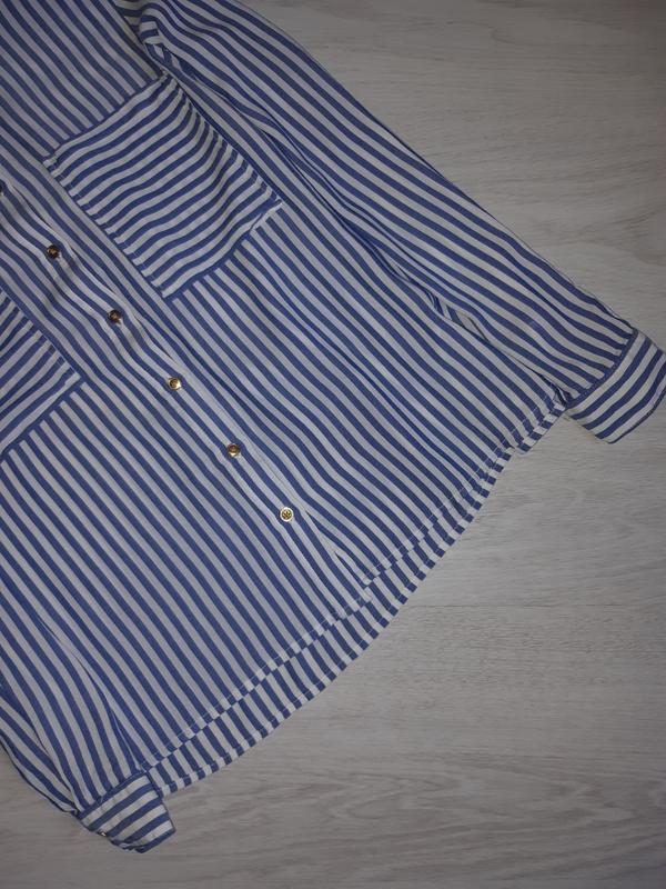 Рубашка zara basic оригинал - Фото 6