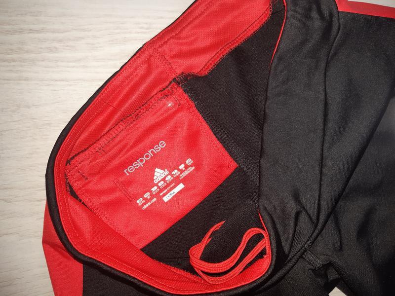 Спортивные лосины леггинсы тайтсы капри adidas clima lite - Фото 4