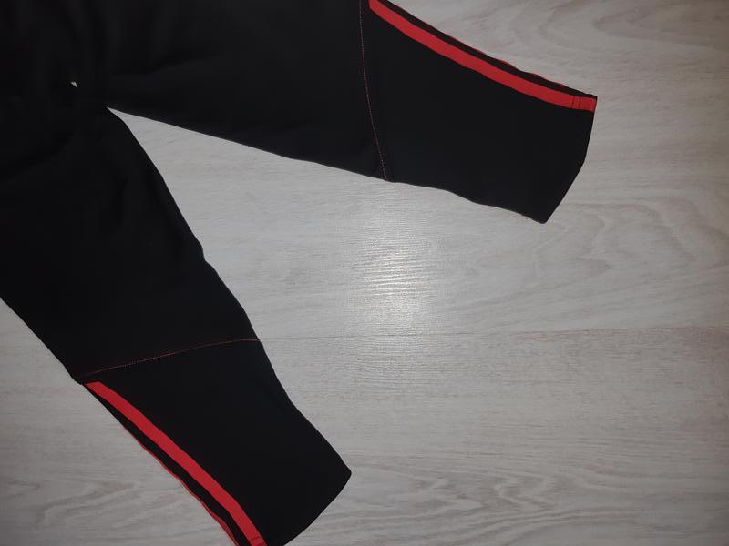 Спортивные лосины леггинсы тайтсы капри adidas clima lite - Фото 7