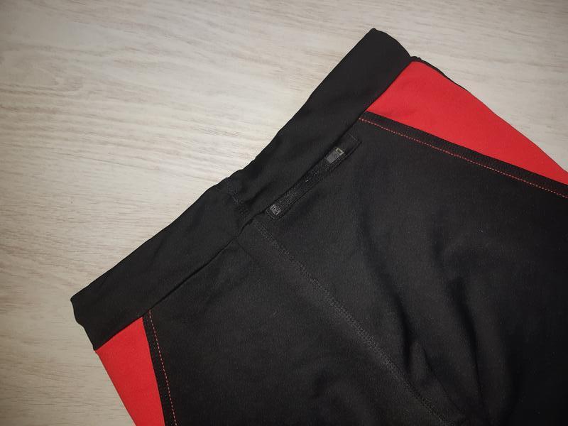 Спортивные лосины леггинсы тайтсы капри adidas clima lite - Фото 8