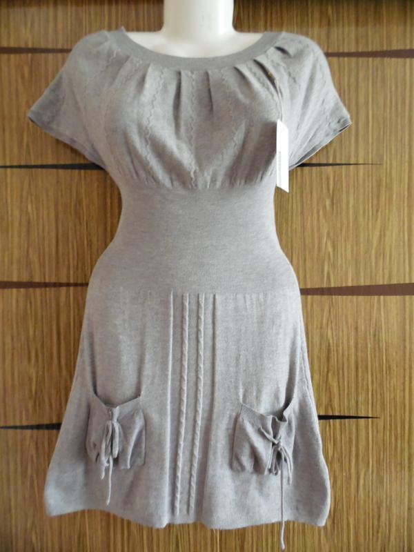 Платье весна\осень, трикотажное, новое. размер м\l - идет на 4...