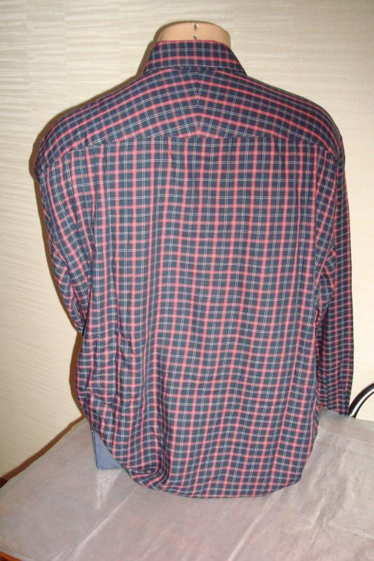 🍀🍀marks&spencer стильная мужская рубашка длинный рукав xl🍀🍀🍀 - Фото 4