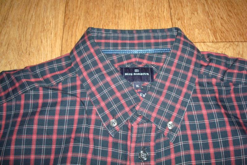 🍀🍀marks&spencer стильная мужская рубашка длинный рукав xl🍀🍀🍀 - Фото 5