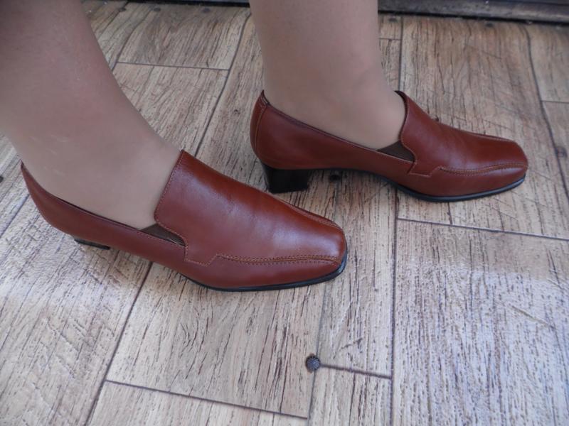 Туфли  нат.кожа  manuel р-р 10 – идет на  41-41,5