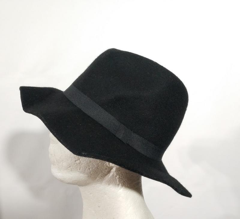 Женская фетровая шляпа шерсть! немецкого бренда esmara европа ... - Фото 2