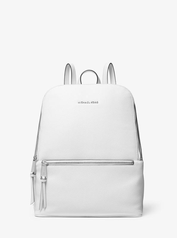 Шикарный кожаный рюкзак michael kors оригинал - Фото 2