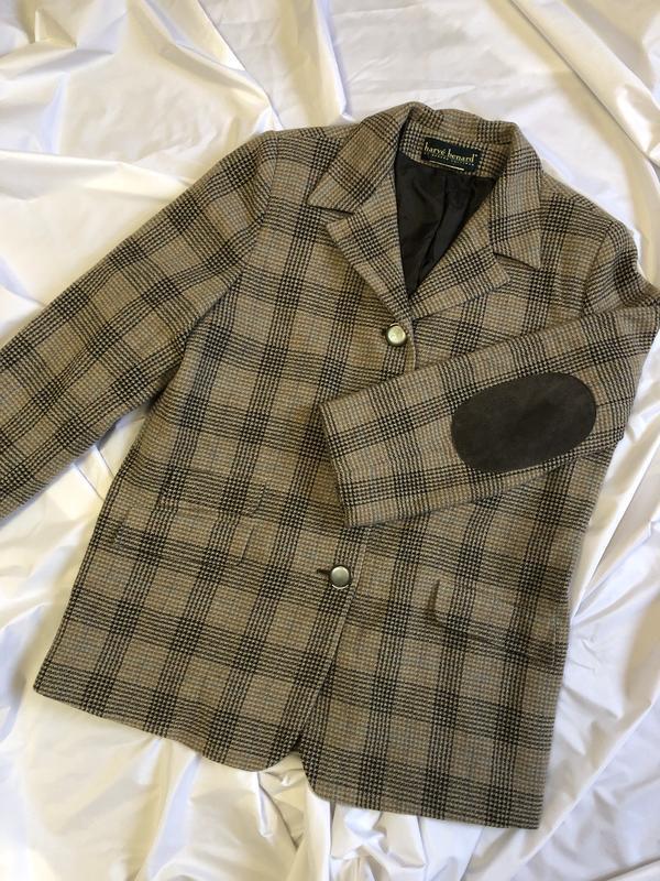 Клечатый пиджак