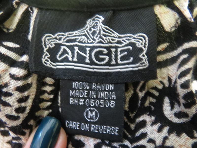 Комбинезон с шортами  с индийским принтом и открытыми плечами ... - Фото 4