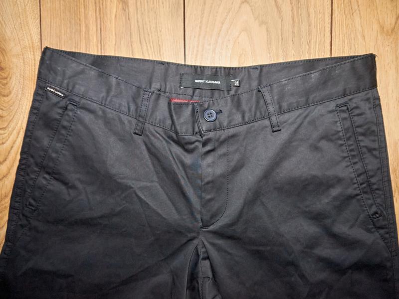Брендові чоловічі штани чорного кольору від takeshy kurosawa - Фото 2