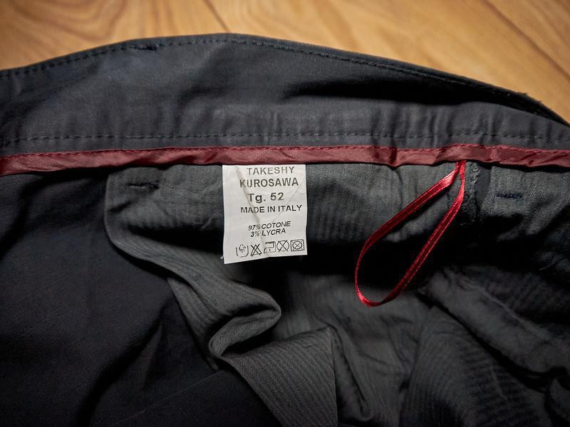 Брендові чоловічі штани чорного кольору від takeshy kurosawa - Фото 4