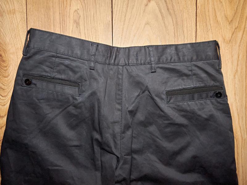 Брендові чоловічі штани чорного кольору від takeshy kurosawa - Фото 5