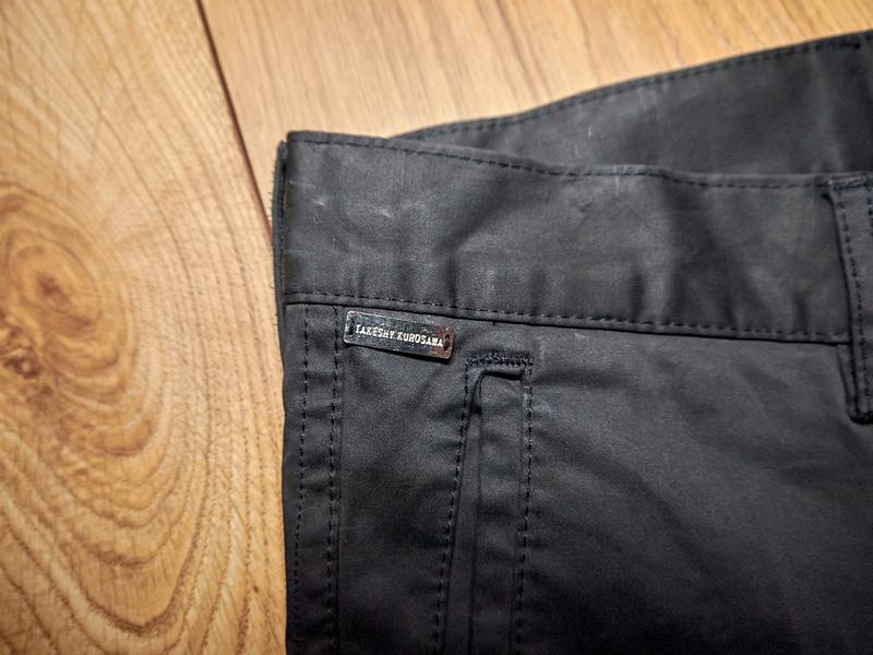Брендові чоловічі штани чорного кольору від takeshy kurosawa - Фото 6