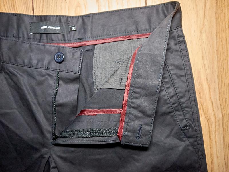 Брендові чоловічі штани чорного кольору від takeshy kurosawa - Фото 7