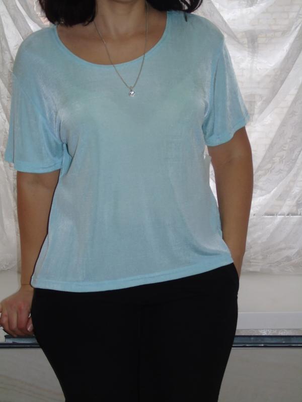В наличии новая мятная футболка - Фото 2
