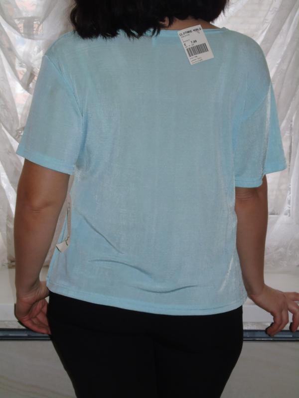В наличии новая мятная футболка - Фото 5