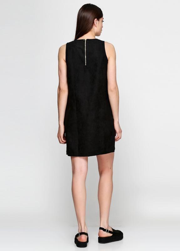 Платье под замшу с молнией на спинке esmara