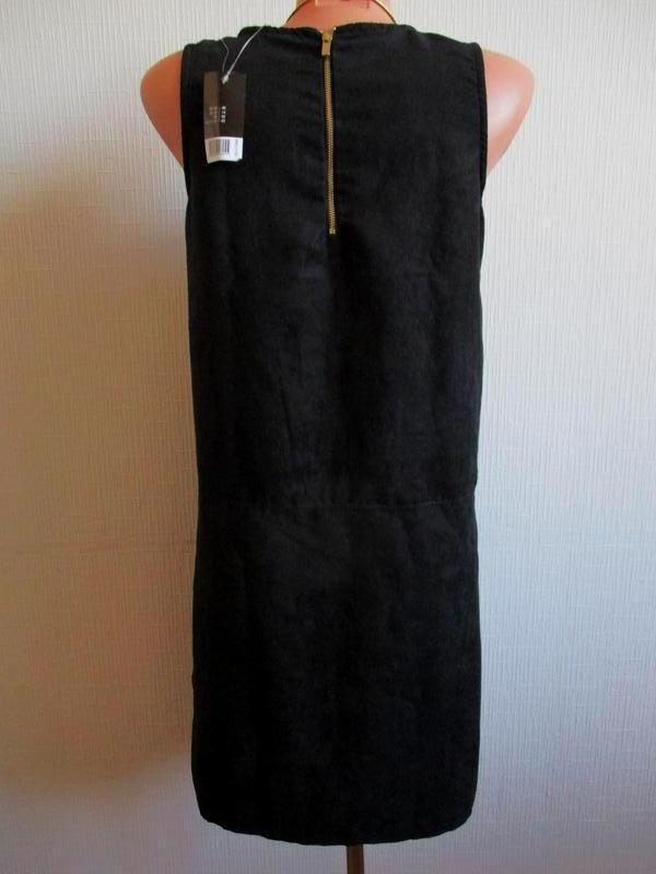 Платье под замшу с молнией на спинке esmara - Фото 6
