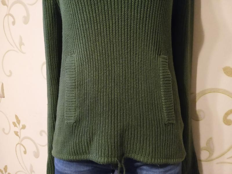 Clockhouse . стильный свитер джемпер пуловер с капюшоном и кар... - Фото 3