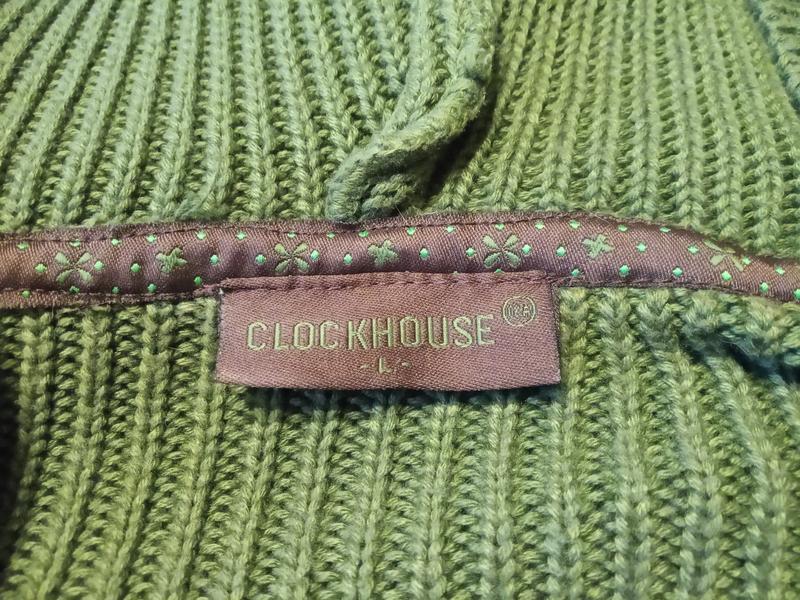 Clockhouse . стильный свитер джемпер пуловер с капюшоном и кар... - Фото 5