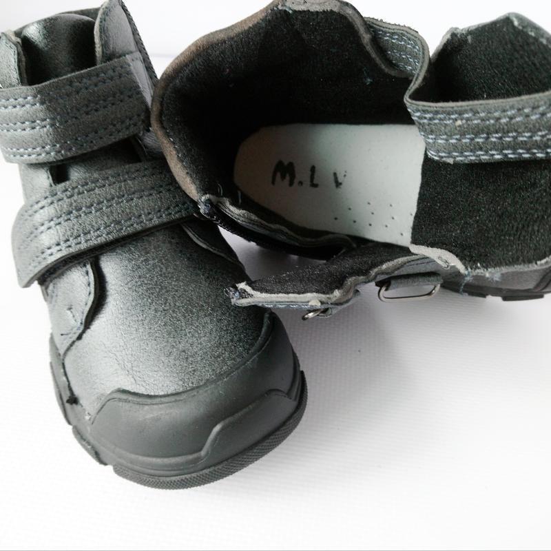 Демисезонные ботинки мальчикам - Фото 7