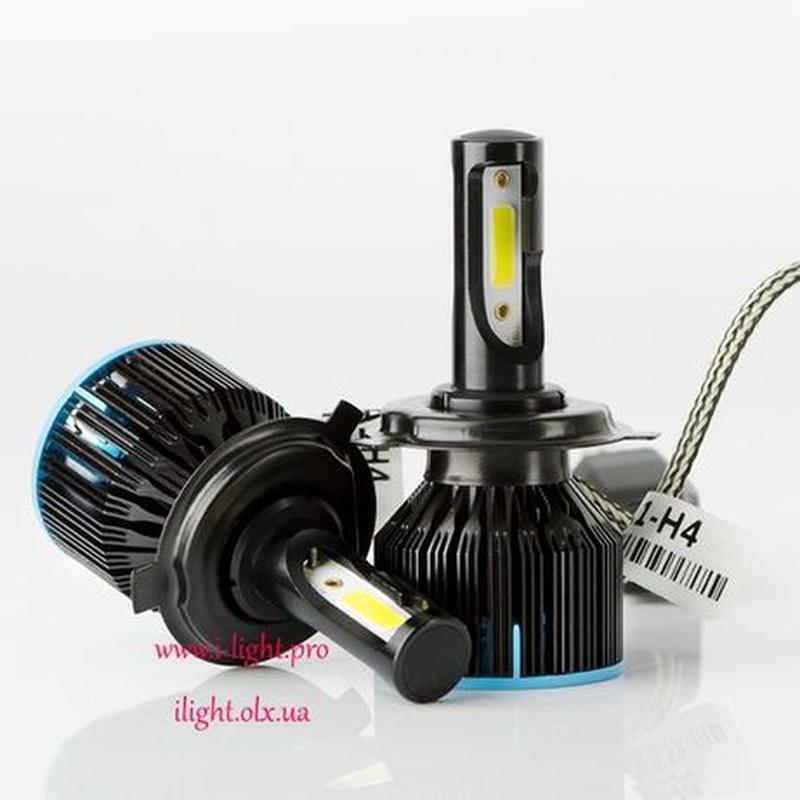 S5 H4 Светодиодные автомобильные LED автолампы H1 H7 лед ксенон - Фото 2