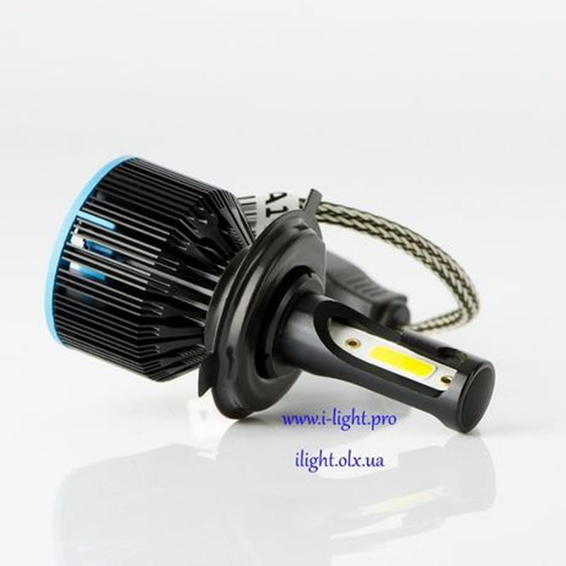 S5 H4 Светодиодные автомобильные LED автолампы H1 H7 лед ксенон - Фото 3