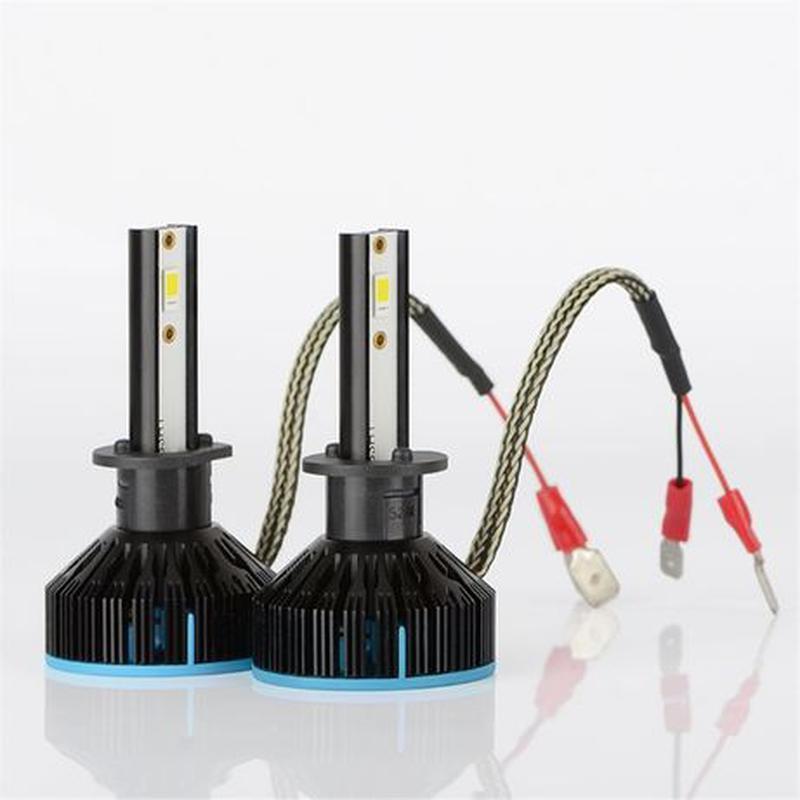 S5 H1 LED диодные автомобильные ЛЕД лампы H4 H7 ксенон лампочк... - Фото 2