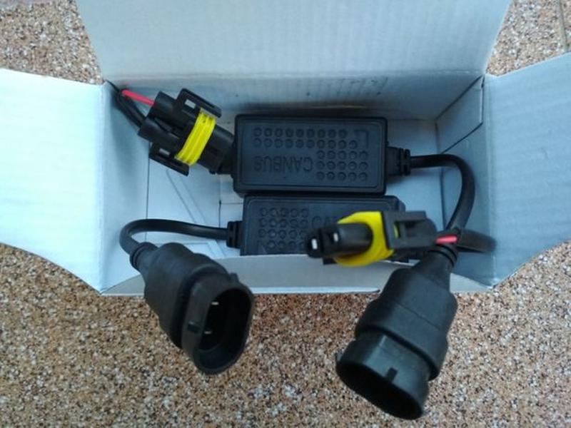 Электронные обманки для светодиодных LED ламп ксенона CANBUS л... - Фото 4