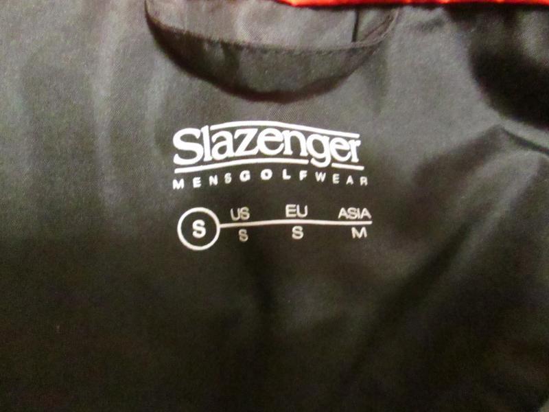 Куртка ветровка slazenger размер s - Фото 6