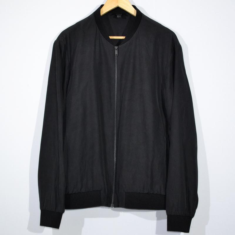 Куртка бомбер cos silk bomber