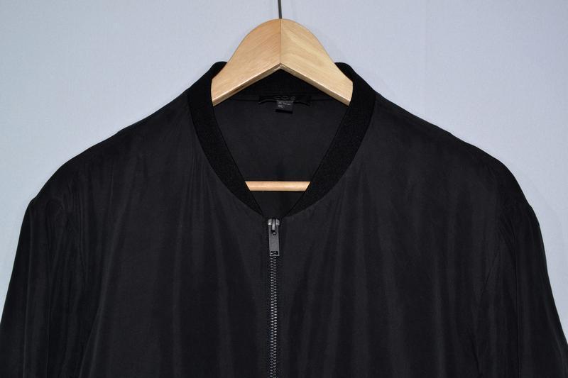 Куртка бомбер cos silk bomber - Фото 4